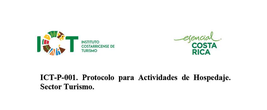 Protocolo ICT-P-001 Sub sector Actividad de Hospedaje