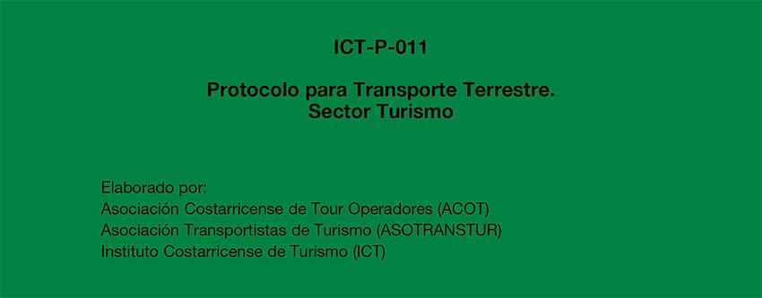 Presentación Protocolo para Transporte Terrestre Sector Turismo