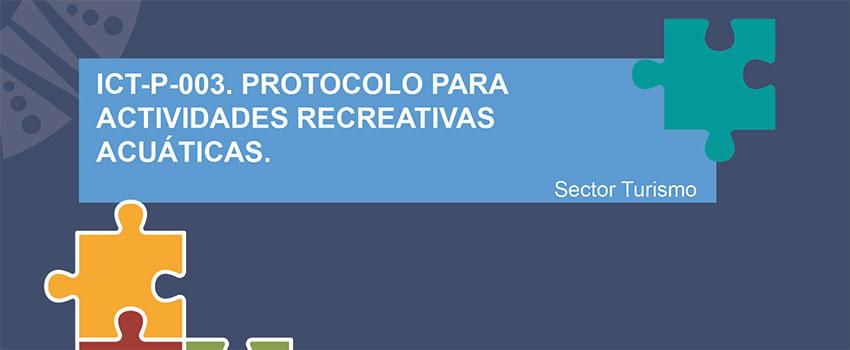 Presentación Protocolo para las actividades recreativas acuáticas