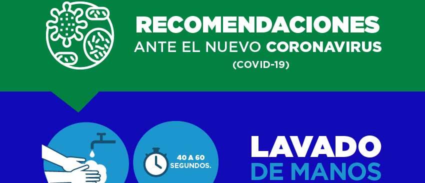 Recomendaciones Generales Coronavirus