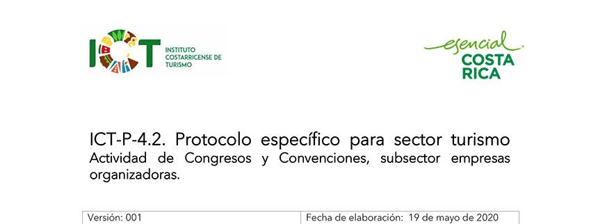 Protocolo ICT-P-004.2 Protocolo de empresas proveedoras congresos y convenciones
